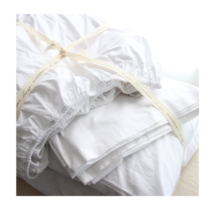 Turkish Cotton Duvet Cover + Shams