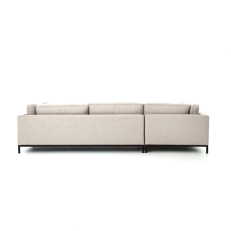 Grammercy Moon Grey Sectional