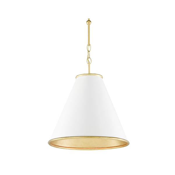 Pierre Small Pendant - White
