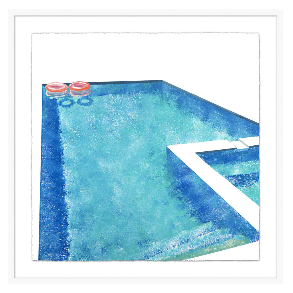 Splish-Splash Framed Print