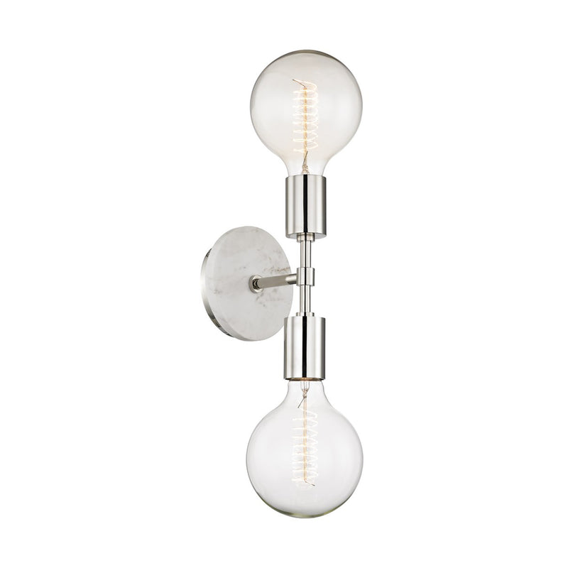 Stockton Sconce - Polished Nickel