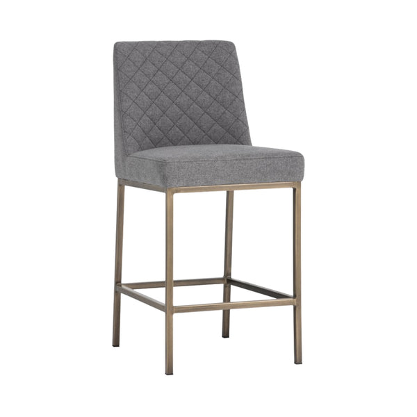 Leigh Counter Stool - Dark Grey