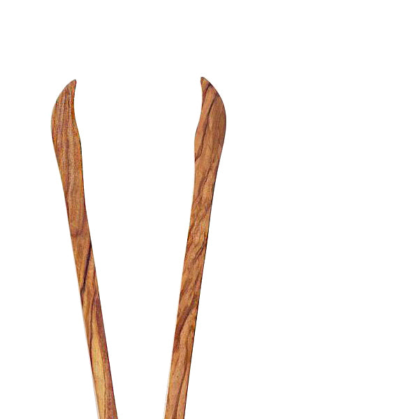 Olive Wood Tongs