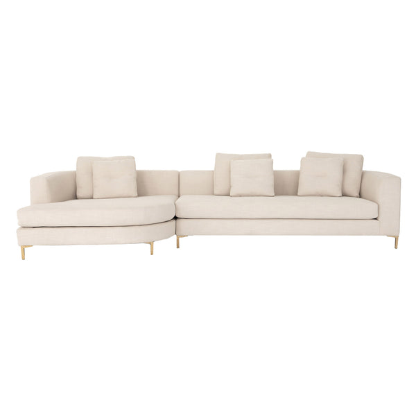 Topanga Sectional - Rounded Chaise