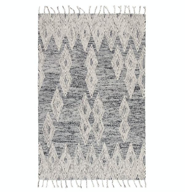 Varia Steel Grey/White Rug
