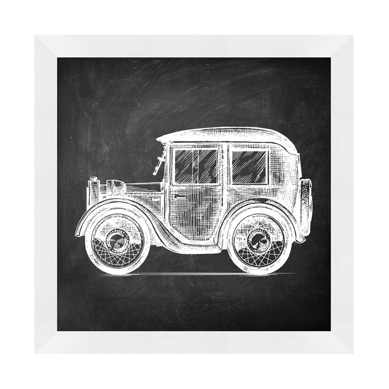 Vintage Car 1 Framed Print