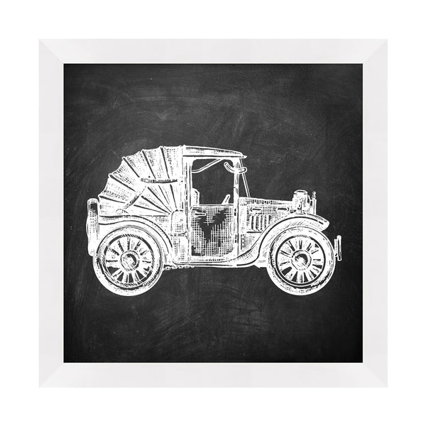 Vintage Car 2 Framed Print