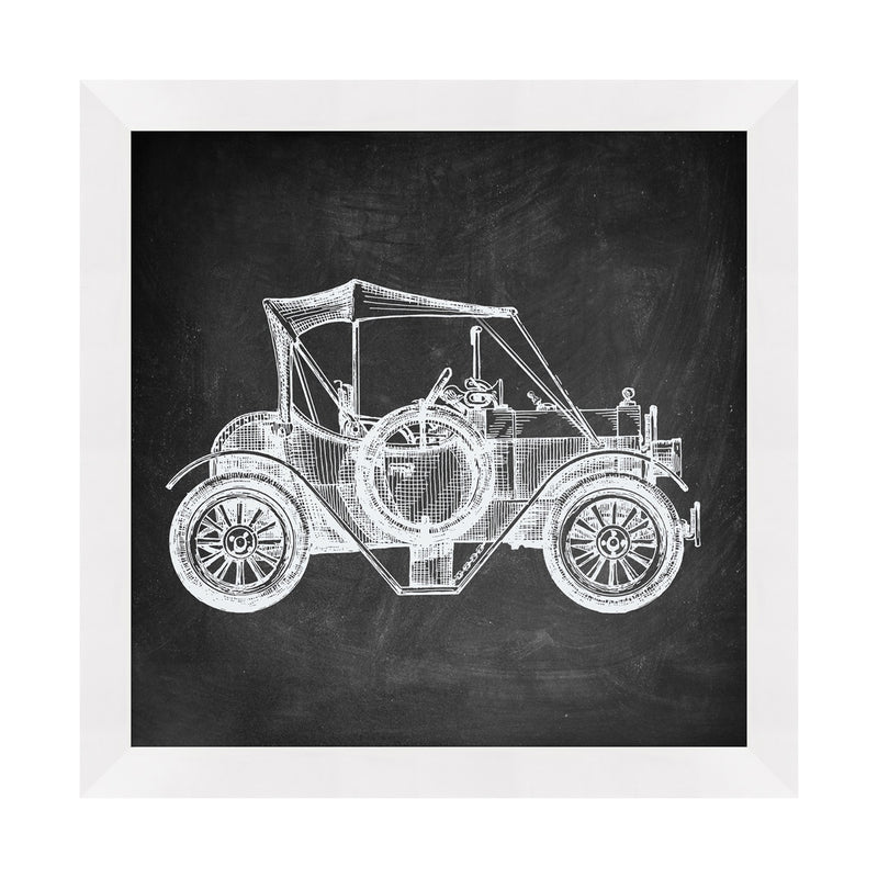 Vintage Car 3 Framed Print