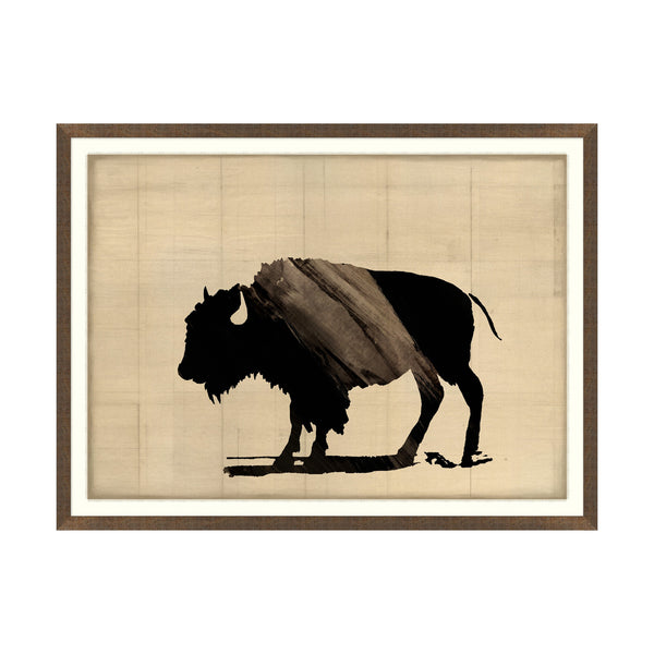 Bison II Canvas