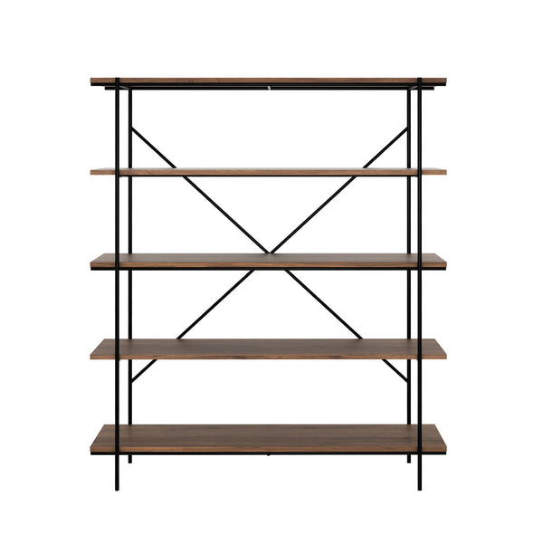 Walnut Rise Bookcase