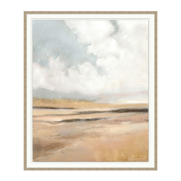 Warm Fields Framed Print