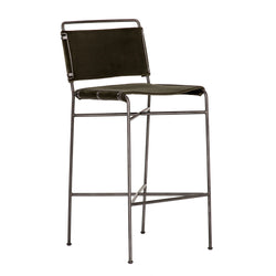 Wharton Counter Stool - Olive