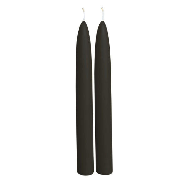 Beeswax Taper Candles - Black