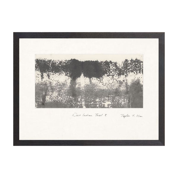 West Indian Trail II Framed Print