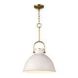 Louisa Pendant - White