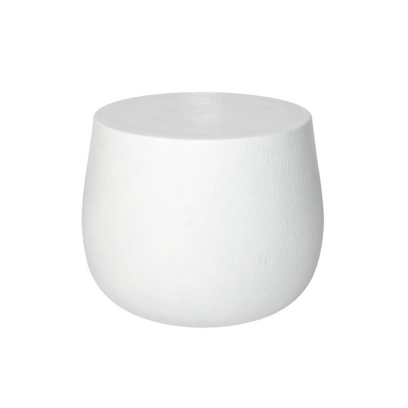 Corrocan Side Table - White