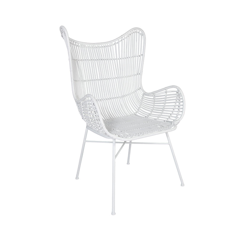 Rattan Butterfly Weave Chair