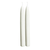 Beeswax Taper Candles - White