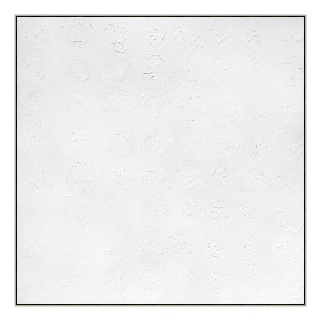 Whiteout Framed Canvas