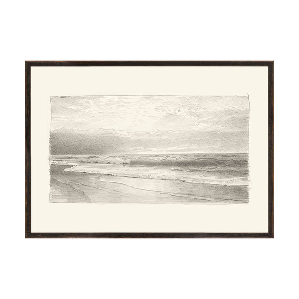 Willy Seascape 1 Framed Print