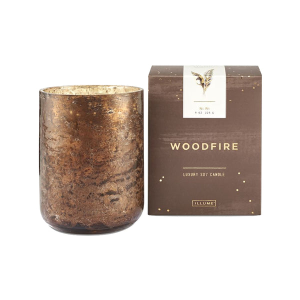 Woodfire Luxe Boxed Candle