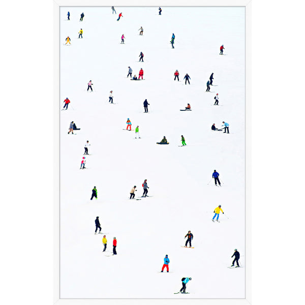 Hit the Slopes 1 Framed Print