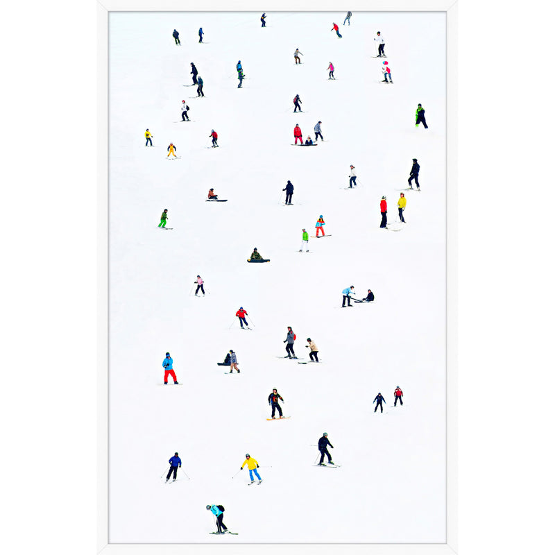 Hit the Slopes 2 Framed Print