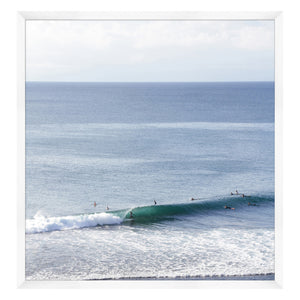 Catching Waves 1 Framed Print