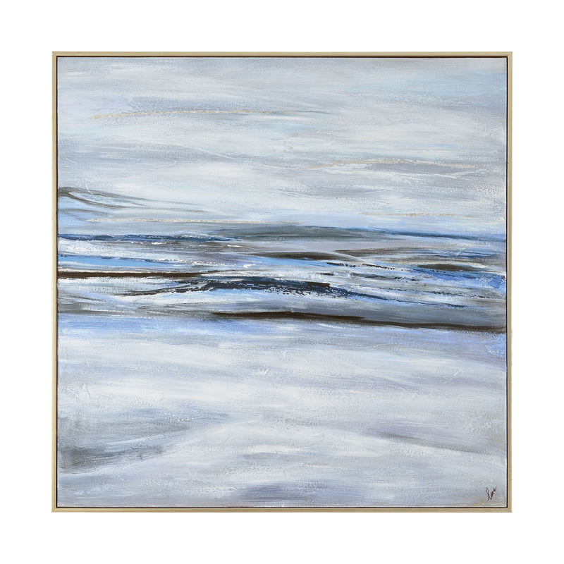 Wavy Waters Canvas