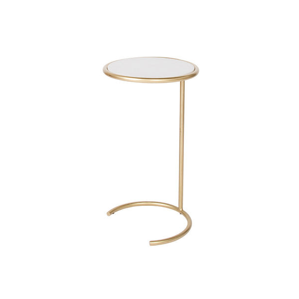 Zeek Side Table - Gold