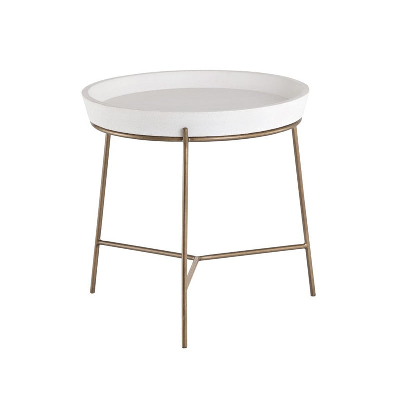 Zuri Side Table - Floor Model