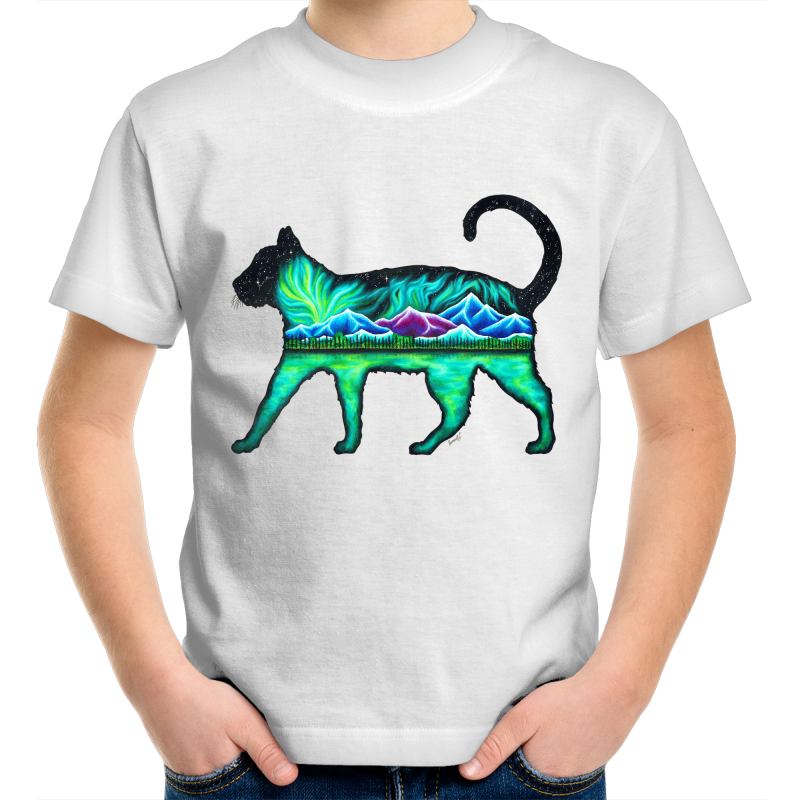 Kids T-Shirt - Cat - Front Print