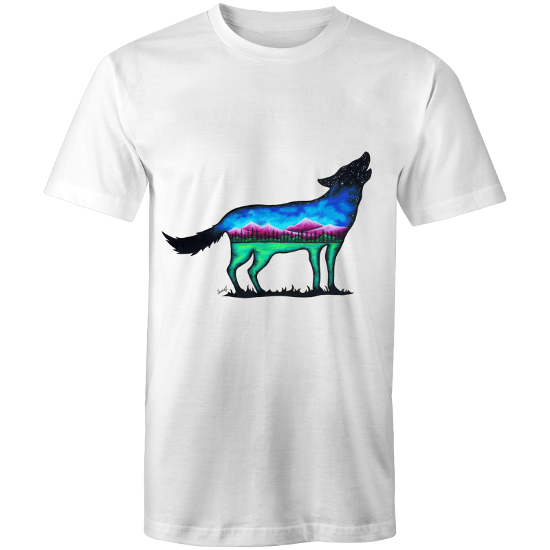 Sportage Surf - Mens T-Shirt - Mountain Wolf