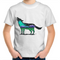 Kids T-Shirt - Northern Lights Wolf - Front Print