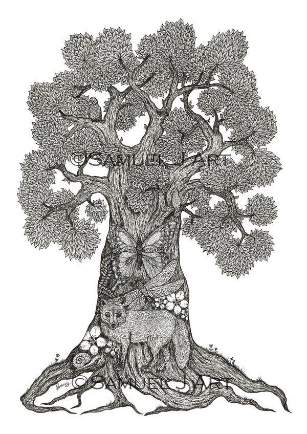 'Tree of Animals' III - Prints