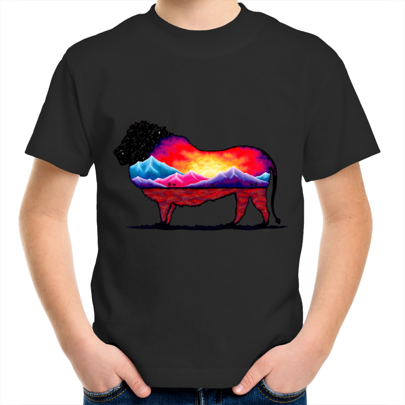 Kids T-Shirt - Lion- Front Print