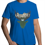 AS Colour Staple - Mens T-Shirt - 'Forest Stag' - Front