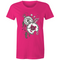 Womens T-shirt - Clocks - Front Print