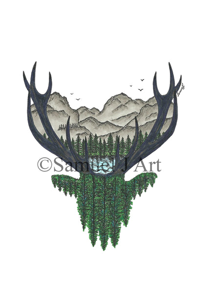 Forest Stag