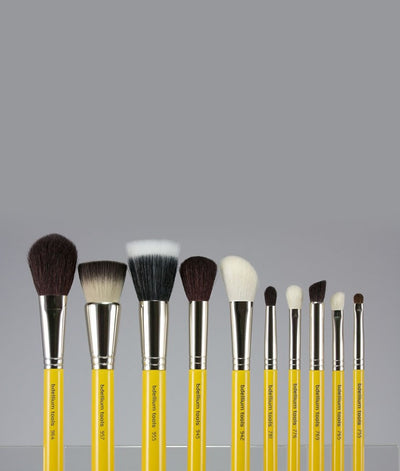 BDellium Tools Studio Mineral 10pc. Brush Set with Roll-up Pouch