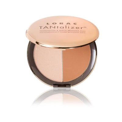 LORAC TANTALIZER HIGHLIGHTER MATTE BRONZER DUO
