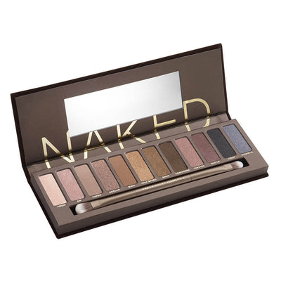 Urban Decay Naked Eyeshadow Palette Open