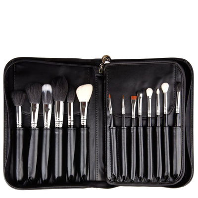 Sigma Brushes COMPLETE KIT CHROME Open
