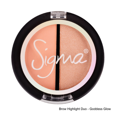 Sigma Beauty Brow Highlight Duo Goddess Glow