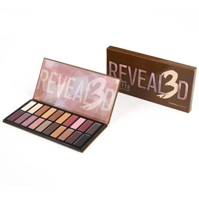 Coastal Scents Revealed 3 Palette 20 Eye Shadow Colors