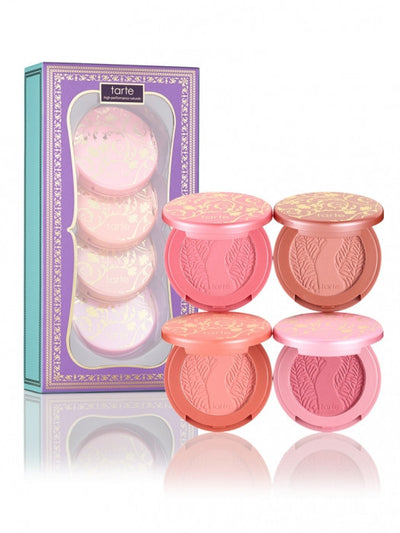 TARTE - chic to cheek  deluxe Amazonian clay blush set