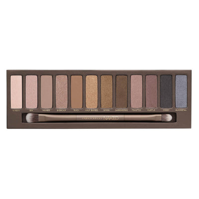 Urban Decay Naked Eyeshadow Palette Swatches