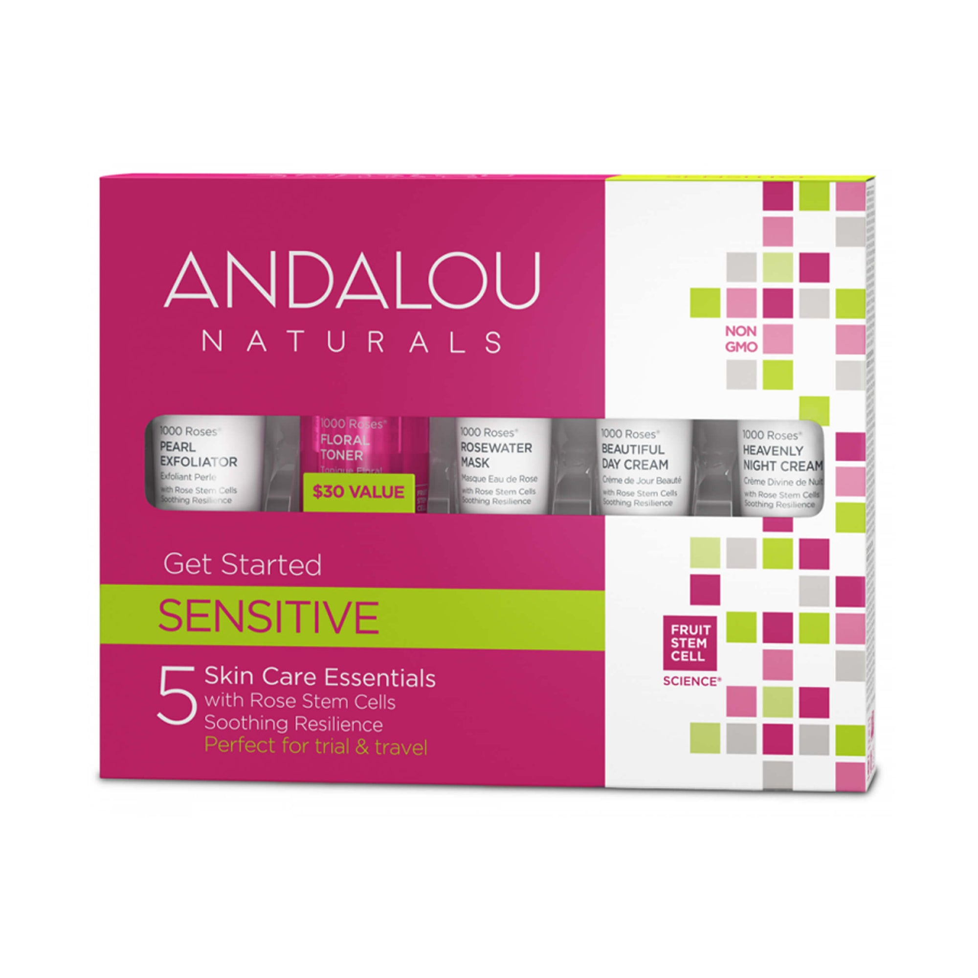 Andalou Naturals 1000 Roses Get Started Kit