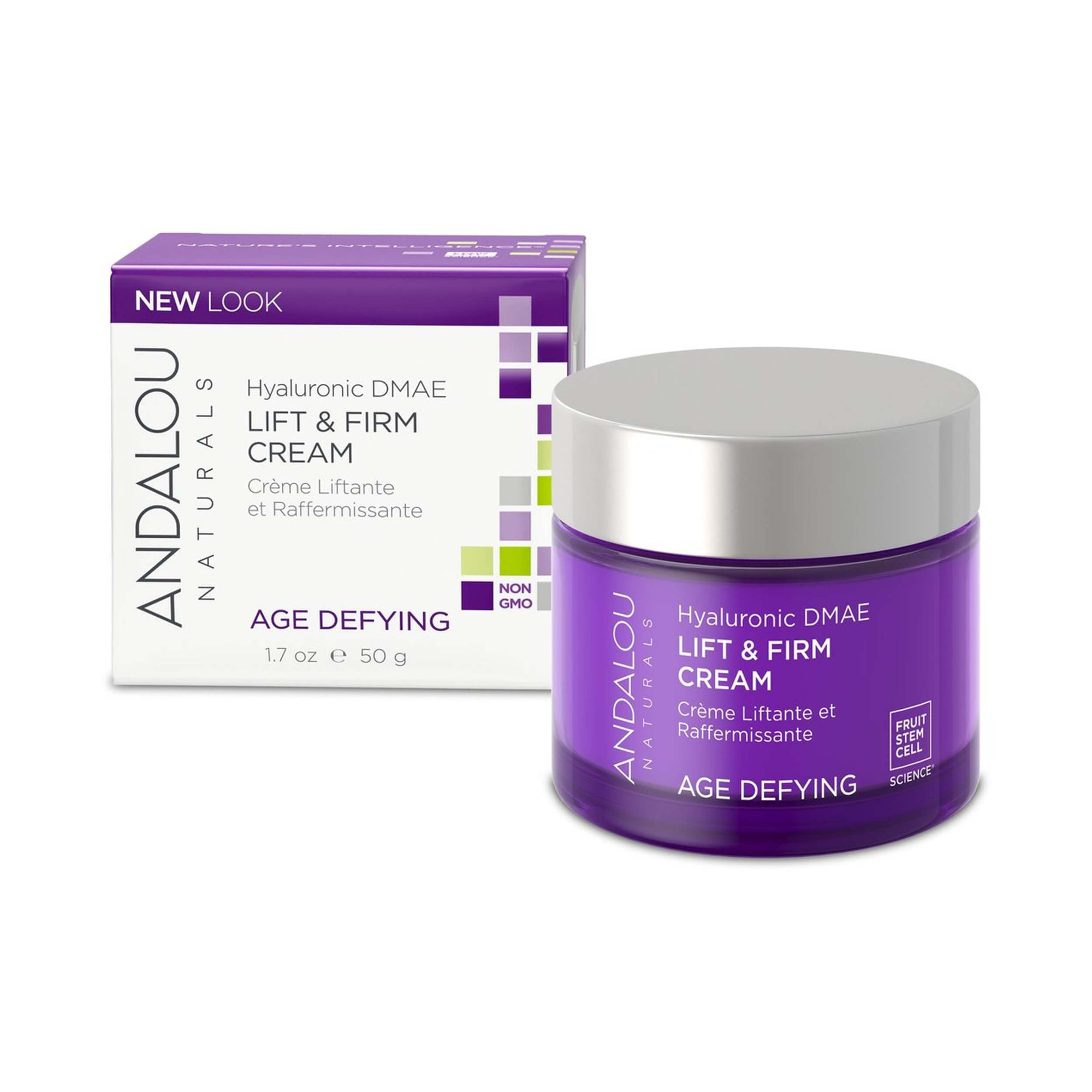 ndalou Naturals Age Defying Hyaluronic DMAE Lift & Firm Cream 50g