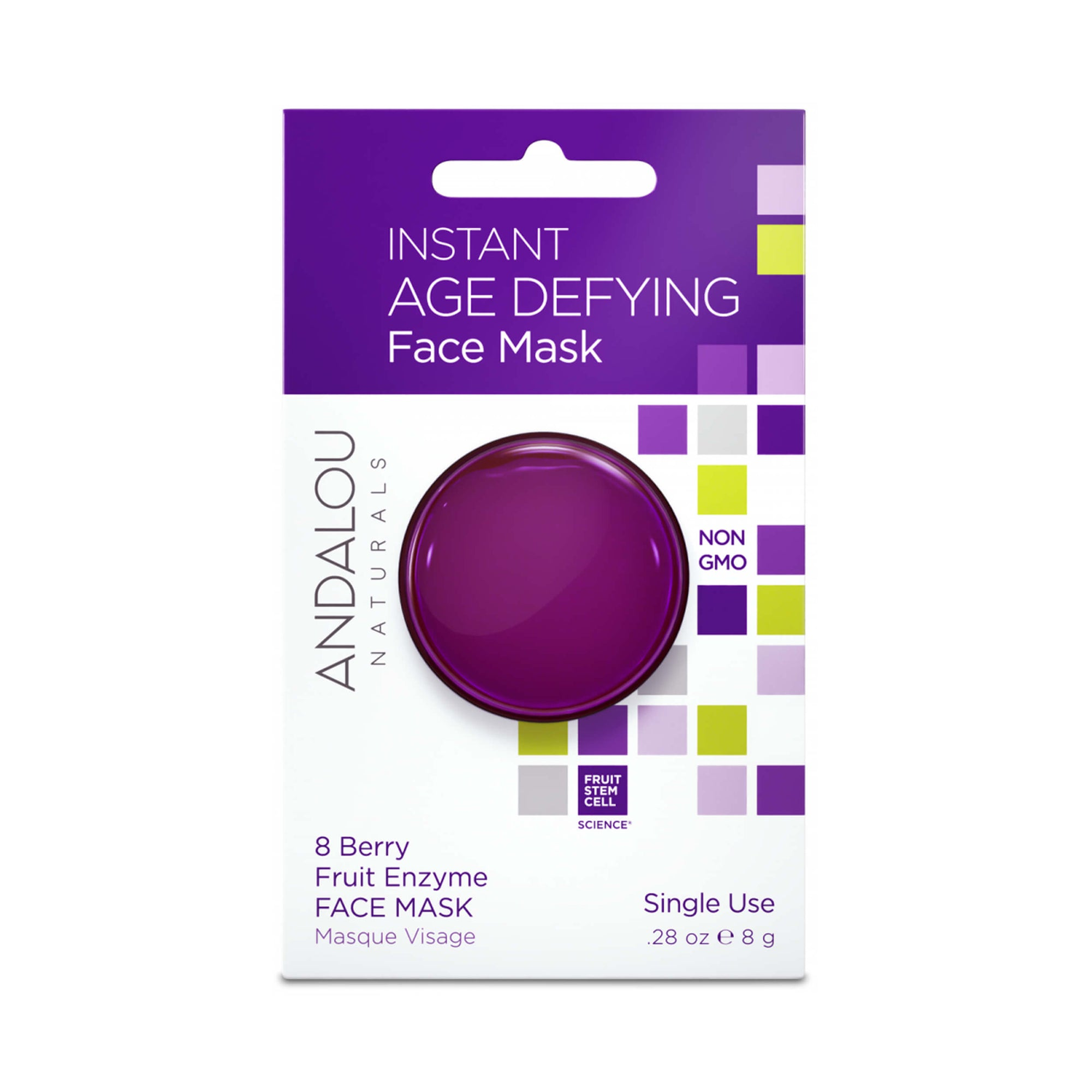 Andalou Naturals Instant Age Defying Face Mask Pod 8g